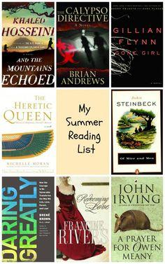 Summer Reading List @joyfulscribblings