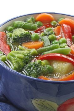 Zero Points Soup (Weight Watchers).