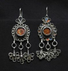 Old Berber Earrings - Ouarzazate Region, Morocco