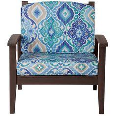 "Improvements Deep Seat Cushion Set (Box) 17""x24""x4-1/2"" back;... (230 SAR) ❤ liked on Polyvore featuring home, outdoors, outdoor decor, outdoor toss pillows, outdoor patio decor, outdoor accent pillows, outdoor box and outdoor garden decor"