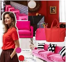 A  world of Pantone Flame: Exclusive modern luxury inspiration