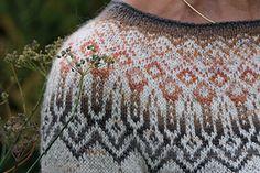 Ravelry: Tinta pattern by Heidemarie Kaiser Fair Isle Knitting Patterns, Sweater Knitting Patterns, Knitting Sweaters, Nordic Sweater, Needles Sizes, Stitch Markers, Mittens, Ravelry, Knitted Hats