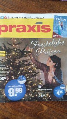 Praxis: folder straalt de huidige trend van Kerst uit. Logo is overduidelijk zichtbaar. Qua uitstraling is het door de trend uitnodigend en sfeervol