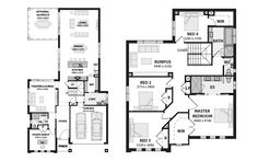 Denver 43 By Metricon House Designs Pinterest House Plans Home Design And Home