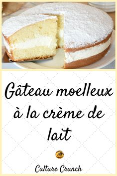 Gateau Cake, Yummy Cakes, Vanilla Cake, Cupcake Cakes, Cake Recipes, Sweet Treats, Food And Drink, Cooking Recipes, Yummy Food