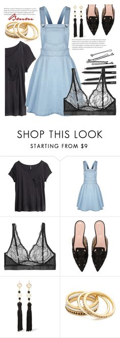 """Almost summer"" by bianca1408 ❤ liked on Polyvore featuring H&M, Mimi Holliday by Damaris, Alberta Ferretti, Kenneth Jay Lane, Madewell and BOBBY"