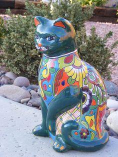 Talavera kitty keeping watch!