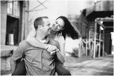 Cole & Chrissy's Downtown Mckinney Engagement Session