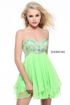 Un look sencillo y natural ser� la apuesta adecuado. Vestidos de Fiesta 2013 para Adolescentes. Fotos Nueva Colecci�n Sherri Hill.