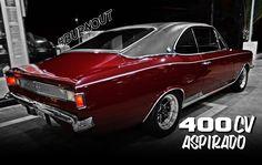 Opala Gran luxo - 400cv aspirado ( NA RODA ) + Burnout Classic European Cars, Classic Cars, Car Chevrolet, Chevy, General Motors, Buick, Cadillac, Volkswagen, Vehicles