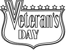 color pages for holidays Veterans Day is an annual American