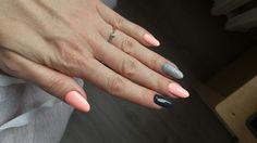 Nails by me 😊 #semilac  #nails #sleepingbeauty #indigo