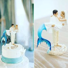 "Mermaid Inspiration Shop on Instagram: ""OMG 😍😍 #mermaidinspiration #mermaid #mermaidwedding @mermaidhyli"" Mermaid Cakes, Mermaid Wedding, Vanilla Cake, Wedding Inspiration, Wedding Ideas, Cake Toppers, Wedding Cakes, Disney Princess, Shopping"