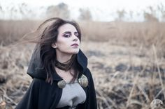 Hooded Black Cloak Halloween edition
