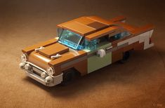 Lego Boot, Hover Car, 57 Chevy Bel Air, Micro Lego, Amazing Minecraft, Cool Lego Creations, Lego Worlds, Lego Design, Lego Models