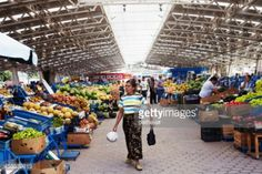 Kardzhali, Bulgaria - July 28, 2011: People shopping at the... #kurdzhali: Kardzhali, Bulgaria - July 28, 2011: People shopping… #kurdzhali