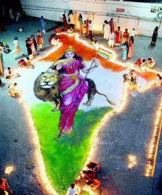 Patriotic Rangoli Designs - Independence and Republic Day Independence Day Theme, Happy Independence Day Images, Indian Flag Colors, Maa Image, Indian Flag Images, Beautiful Rangoli Designs, Designs Rangoli, Mother India, Indian Rangoli