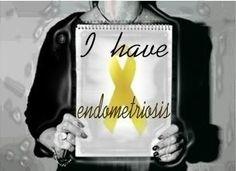 I have Endometriosis. I am a ENDO WARRIOR!