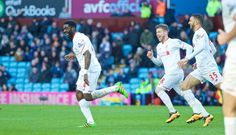 BIRMINGHAM, ENGLAND - Sunday, February 14, 2016: Liverpool's Kolo Toure celebrates scoring the sixth goal against Aston Villa during the Premier League match at Villa Park. (Pic by David Rawcliffe/Propaganda)
