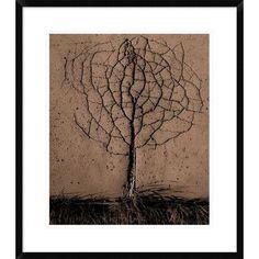 Global Gallery 'Asphalt Tree' by Rasto Gallo Framed Photographic Print Size: