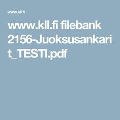 www.kll.fi filebank 2156-Juoksusankarit_TESTI.pdf