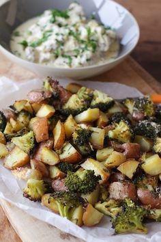 Kip in mosterdsaus met aardappel en broccoli - Francesca Kookt