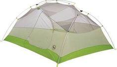 Big Agnes, Inc. RattleSnake SL3 mtnGlo Shelter, Gray/Plum, 3-person