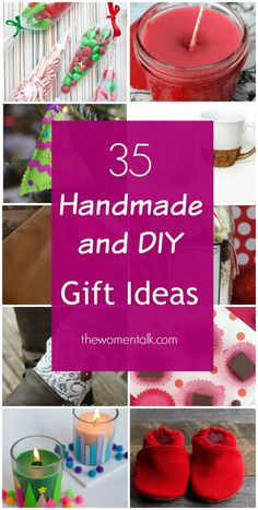 Inexpensive Handmade Gift Ideas