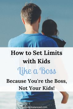 Setting Limits with Kids Setting and Establishing Boundaries for Children Creating Healthy Boundaries for Families Parenting Articles, Good Parenting, Parenting Quotes, Parenting Hacks, Practical Parenting, Parenting Plan, Parenting Styles, Kids Behavior, Child Behaviour