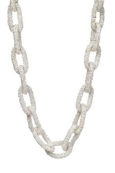 Check out this great statement necklace, it's the All Linked Necklace for $28.00 at www.hearts.com. You get a great piece and know you're doing something good, it's a win-win! :)