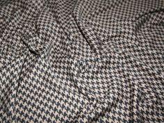 Dogtooth Ponte Roma Stretch Jersey Dress Fabric | Fabric | Dress Fabrics | Minerva Crafts