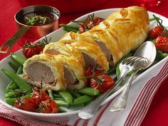 Swedish Recipes, Pork Recipes, Fine Dining, Fresh Rolls, Sushi, Food And Drink, Turkey, Yummy Food, Meat