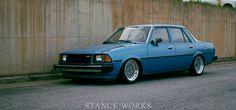 Joseph Dale's 1980 Mazda 626 via Stance Works