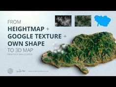 How to get a 3D Terrain from Google Maps with own shape - 3D Map Generator - YouTube Cinema 4d Tutorial, 3d Tutorial, Digital Art Tutorial, Photoshop Tutorial, Blender 3d, Earthquake Map, Magazine Page Layouts, Blender Tutorial, Map Globe