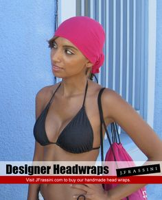 $12.97 Handmade headwraps for sale at http://jfrassini.com/hot-pink-head-wrap/ Surf over and checkout the hot pink bandana.