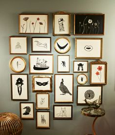 Jennifer Ament wall art. Could it be any cooler?