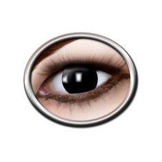 Découvrez toute notre gamme de lentilles fantaisies pour vos déguisements, changez votre regard avec ces lentilles noires aveugle recouvrant également la pupille de la marque zoelibat.