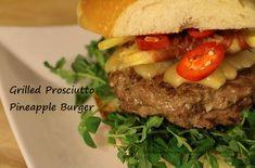 Hamburger Recipes | 100 Ways To Prepare Hamburger | Hamburger Recipes Beef Burger Patty Recipe, Hamburger Recipes, Ground Beef Recipes, Bacon Wrapped Burger, Butter Burgers, Burger Places, Herb Butter, Prosciutto, Favorite Recipes