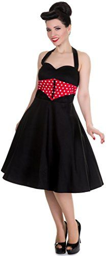 Dolly and Dotty 'Iris' Corset Style Rockabilly Jive Dress in Black/Red Size 22 Dolly and Dotty http://www.amazon.co.uk/dp/B016ME66RI/ref=cm_sw_r_pi_dp_gzWJwb07HF7ZG