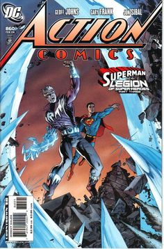 Action Comics #860 Variant Cover DC Comics Feb, 2008