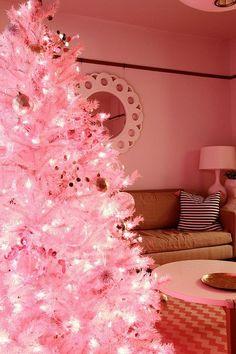 Pink Christmas #Christmas #Holiday #Pink #PinkChristmas