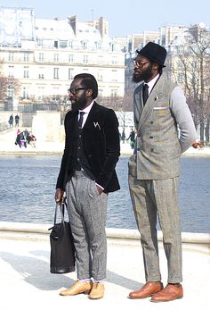 traditional vintage style with a twist. mens fashion style