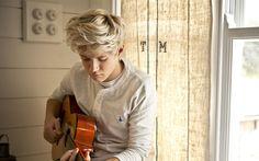 Descargar fondos de pantalla Niall Horan, 4k, la cantante Irlandesa, los jóvenes artistas, la guitarra, Una Dirección