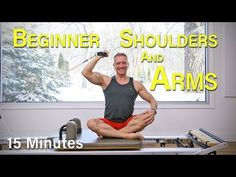 Beginners reformers shoulders and arms # arms # beginners # Pilates reformer workout # . Pilates Video, Cardio Pilates, Pilates Workout Routine, Pilates Reformer Exercises, Pop Pilates, Kickboxing Workout, Pilates For Beginners, Best Ab Workout, Workout Videos