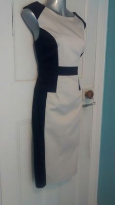 BNWT NEXT  tailored office work wear dress navy blue size 12 14 AF