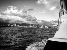 Desde el barco #landscape #photography #blackandwhite