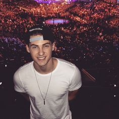 Cody Christian at a UFC game!   Pretty Little Liars