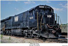 Norfolk & Western C36-7 # 8505 Vintage Trains, Norfolk Southern, Ho Scale, Long Island, Locomotive, Westerns, Transportation, Places To Go, Father