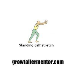 Standing Calf Stretch - Grow Taller Exercises