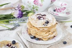 Blueberry Pancakes by Olivia Poncelet dessert sweet